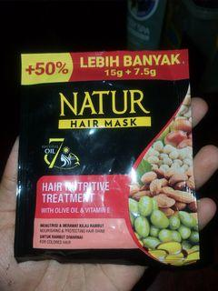 NATUR HAIR MASK FOR COLORED HAIR