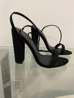 NEW Missguided USA black heels
