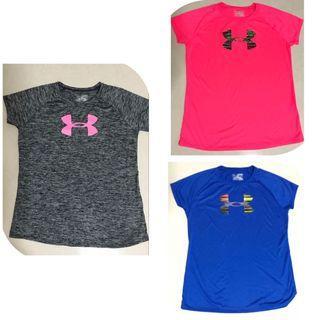 NEW-Under Armour Logo Shirts