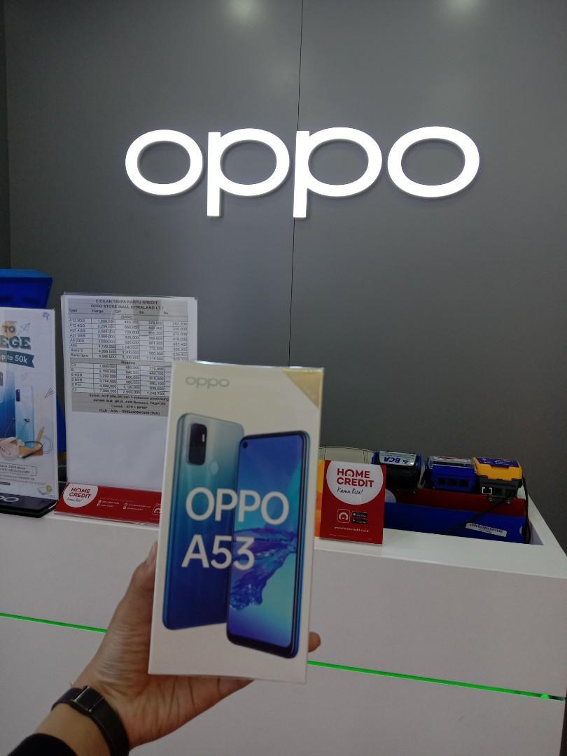 Oppo A53 bisa cicilan tanpa CC DP 350k