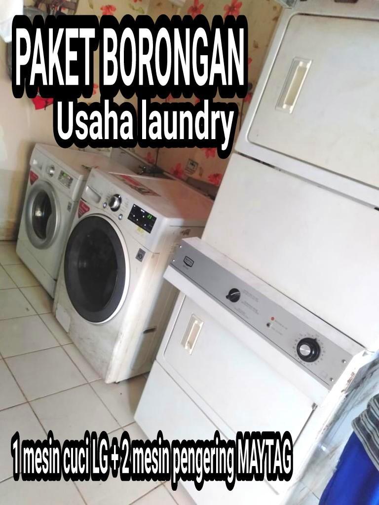 PAKET BORONGAN USAHA LAUNDRY SUDAH BISA LANGSUNG JALAN