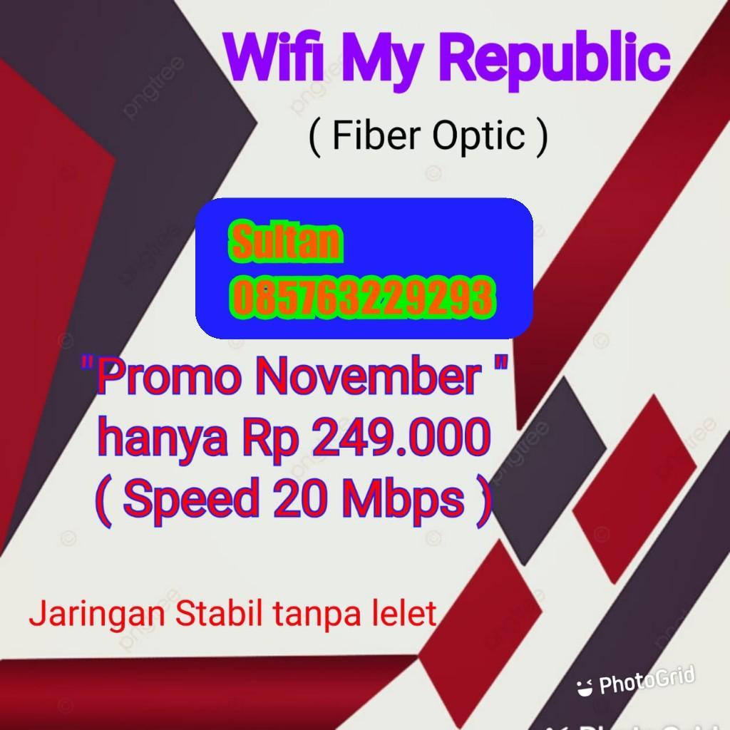 Pendaftaran pemasangan wifi republik