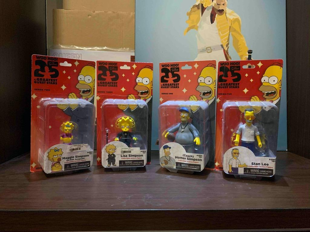 Simpsons action figure - set only
