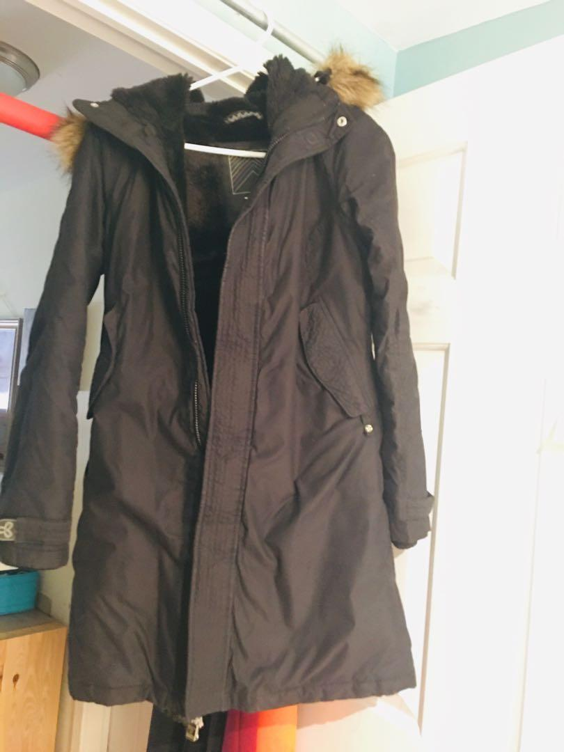 TNA long jacket size s , mint condition