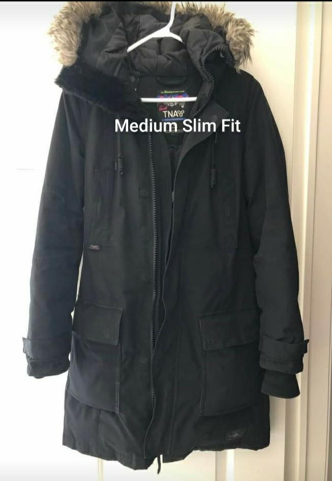TNA Medium Slim Fit Coat-Like New, used twice only on January.