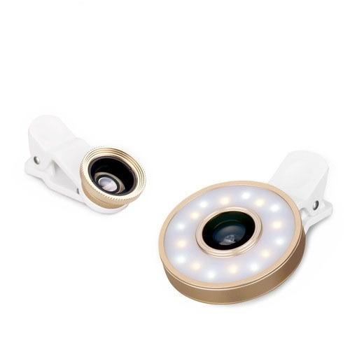 【漲粉神器】直播主指定開播工具 六合一魚眼鏡頭廣角補光燈 美顏優惠 半價出售 售完下架