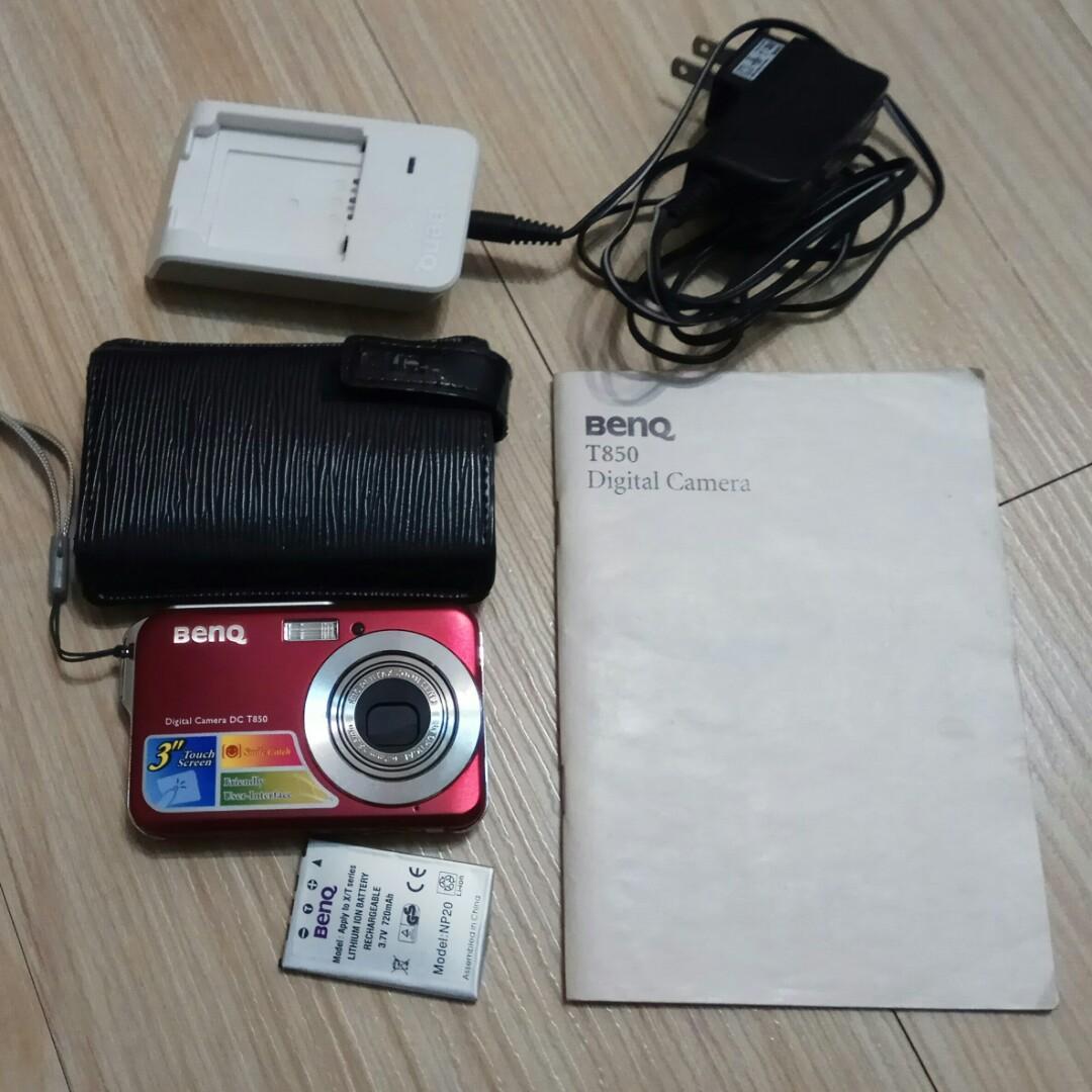 二手 觸控螢幕 時尚相機 BenQ DC T850 國產 數位相機 功能正常 輕巧 好拿 舊式手機 可當零件機或收藏 請看商品說明