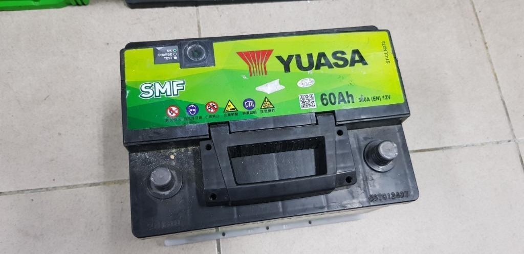 (二手中古電池) YUAS LBN2-SMF 免保養汽車電池 數值漂亮,品項優 同55566 56224 55457歐系車專用