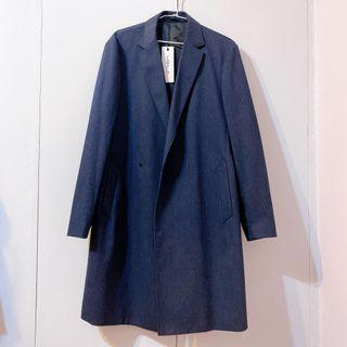 G2000 At twenty 深藍色風衣外套 西裝外套大衣