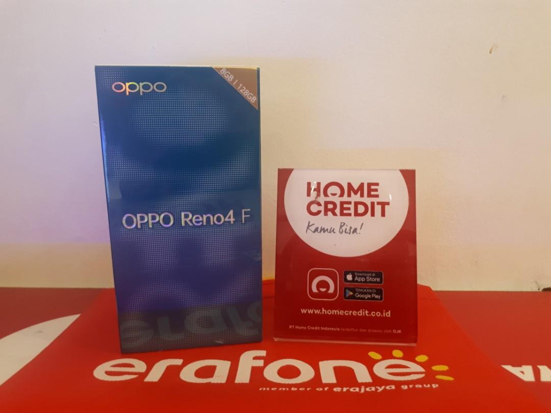 Bisa kredit Oppo Reno 4f Ram 8/128GB free admin 99k