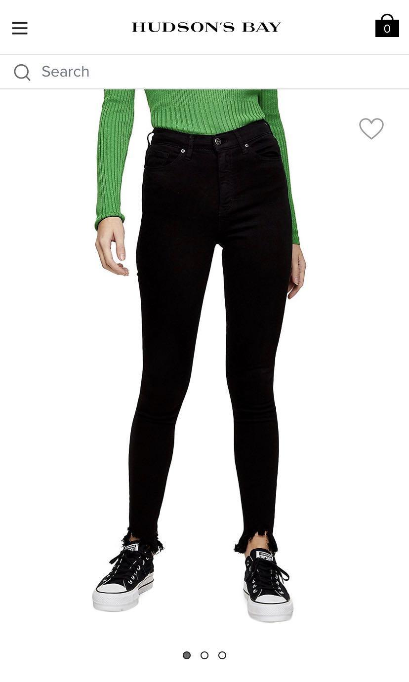 Black Jamie Jeans Topshop