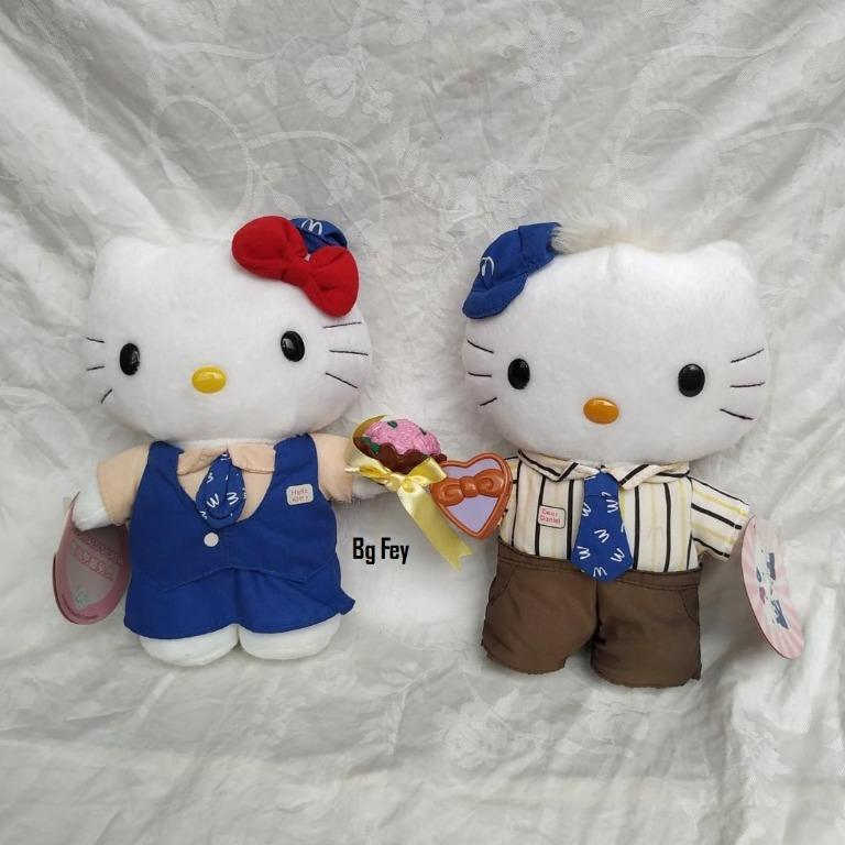 Boneka Couple Hello Kitty and Dear Daniel Mc Donald Crew 1999
