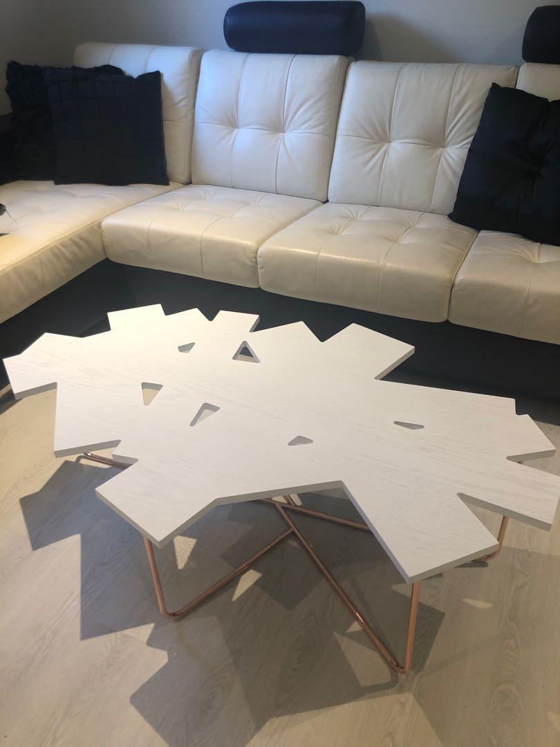 Brand new geometric coffee table