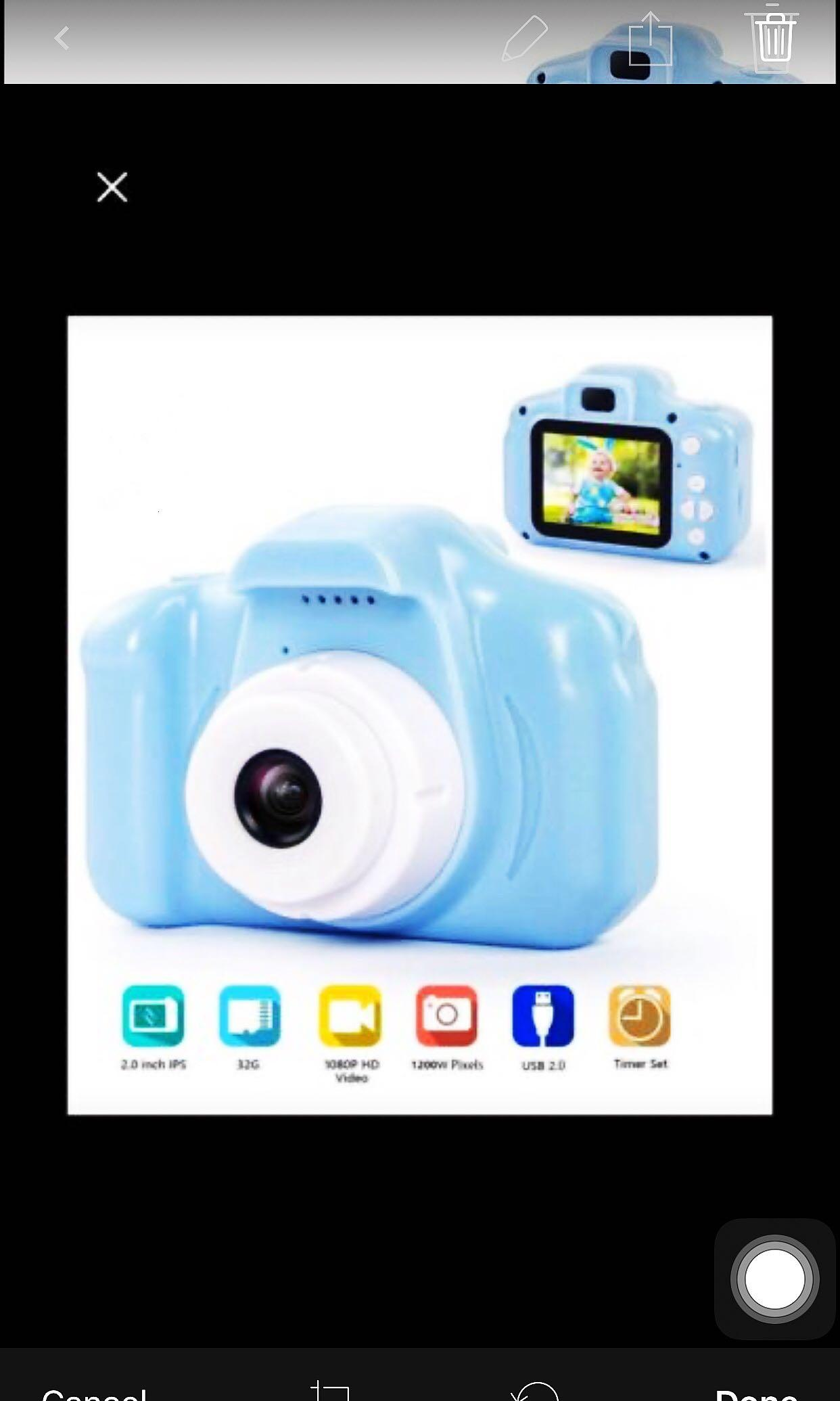 Brand new Kids Digital Camera Toys for 3-8 Years Old Kid Digital Camera 1080P