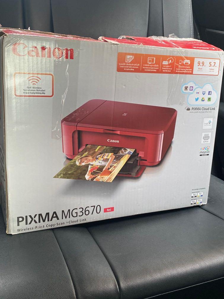 Canon MG3670影印機