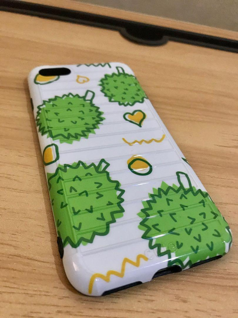 Case iphone 7/8 - motif durian