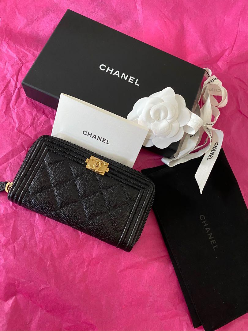 Chanel Zipped Wallet (not coin purse)