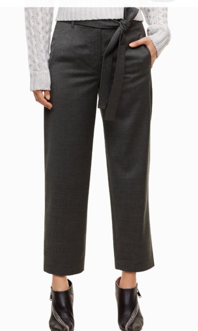 Cropped Tie Front / Jallade Pants
