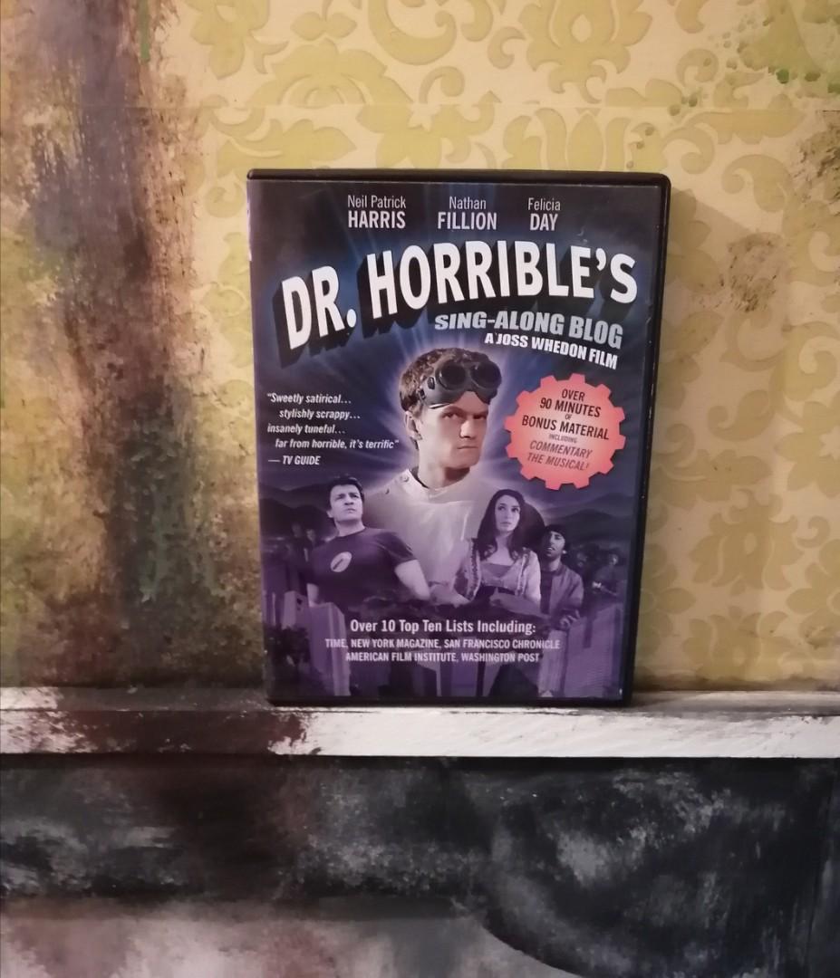Dr. Horrible's Sing-Along Blog DVD
