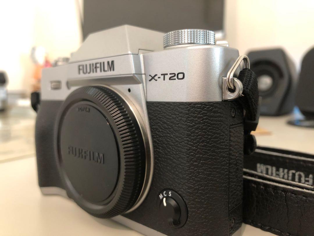 Fujifilm X-T20銀機單機身 公司貨過保