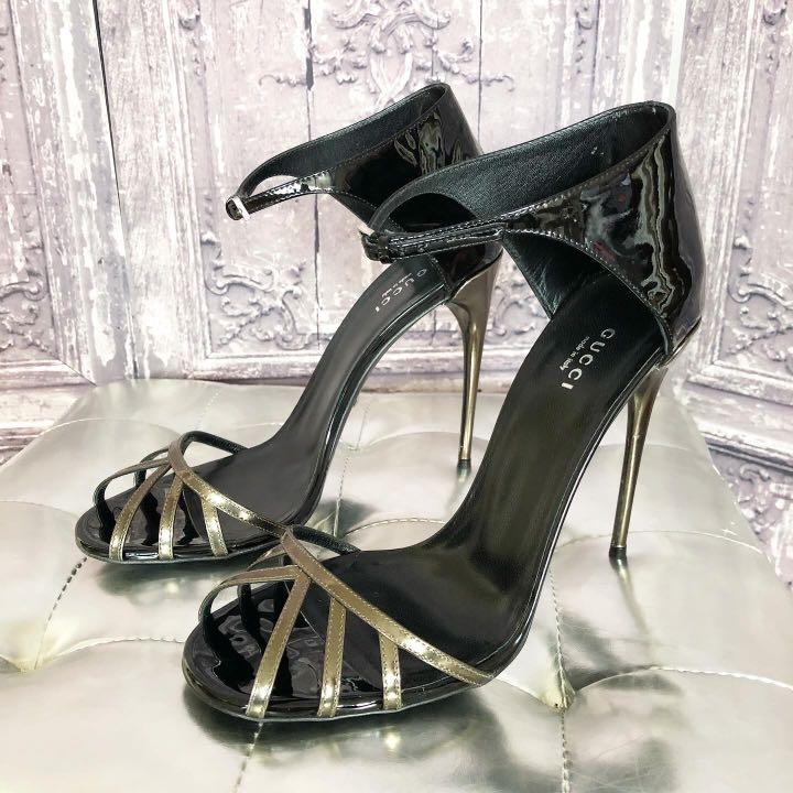 Gucci Caged Sandals