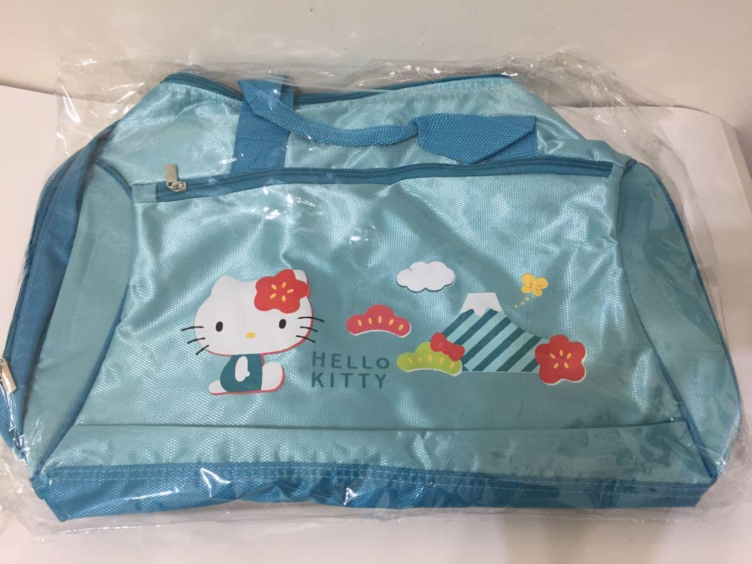 (全新)Hello Kitty悠遊時尚旅行袋