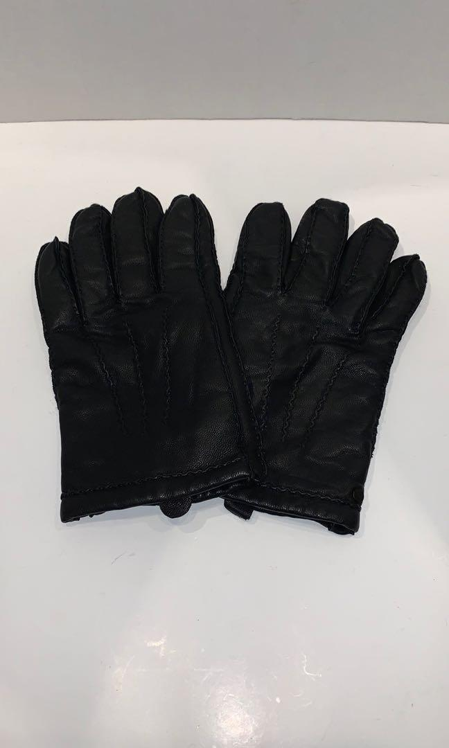 Hugo Boss Leather Gloves