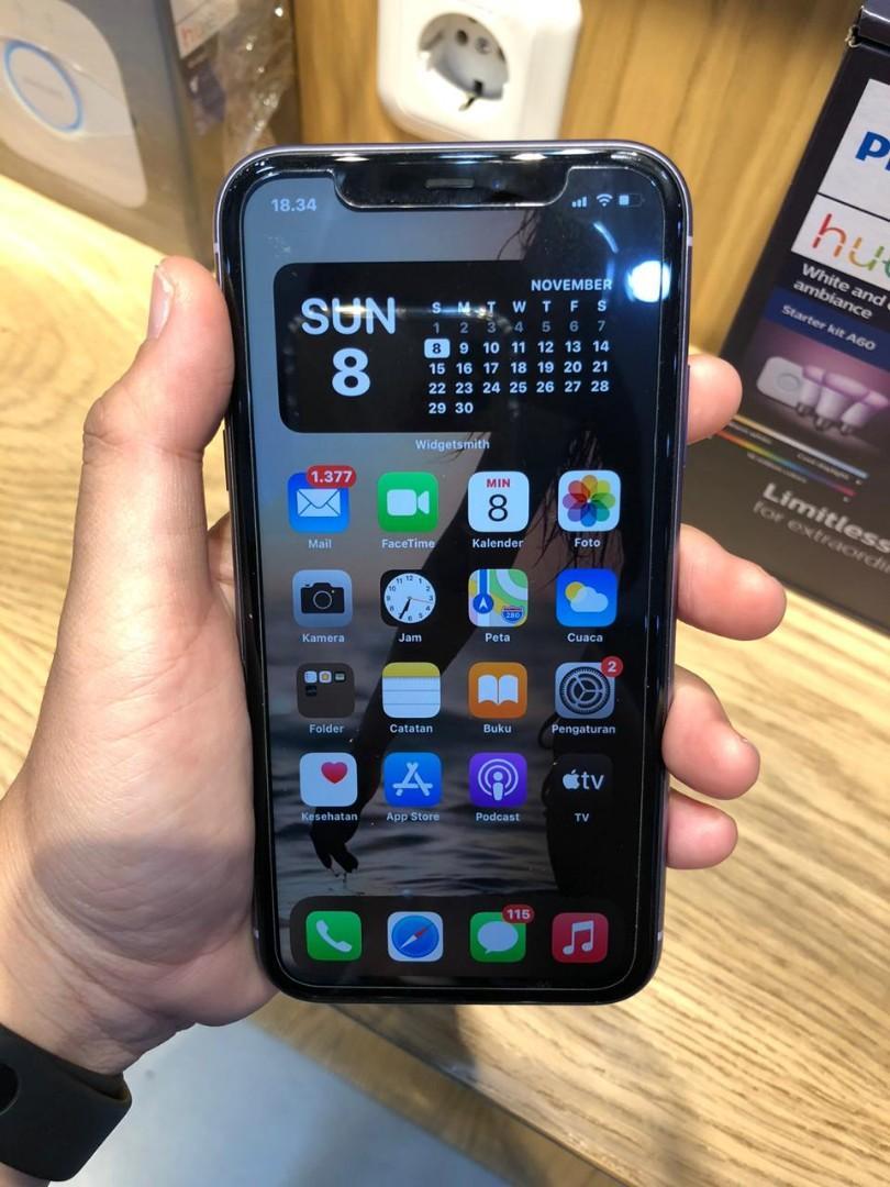 Iphone 11 128 purple ex ibox