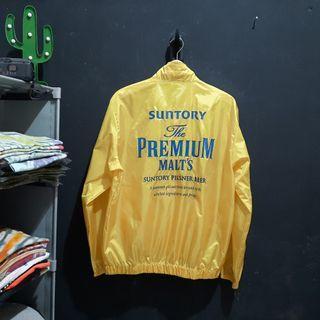 Jacket suntory malts beer