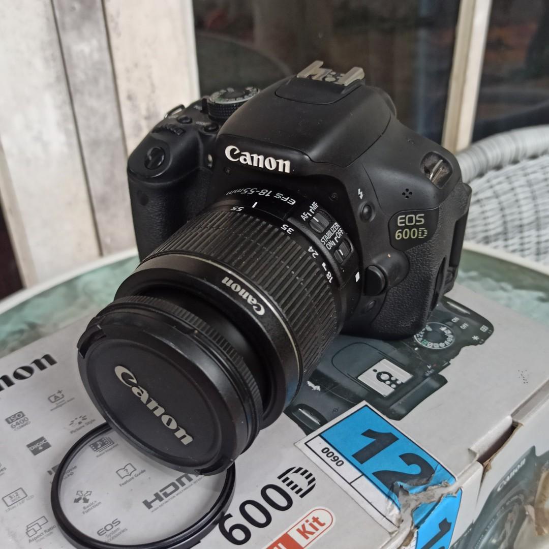 jual Kamera DSLR Canon EOS 600D