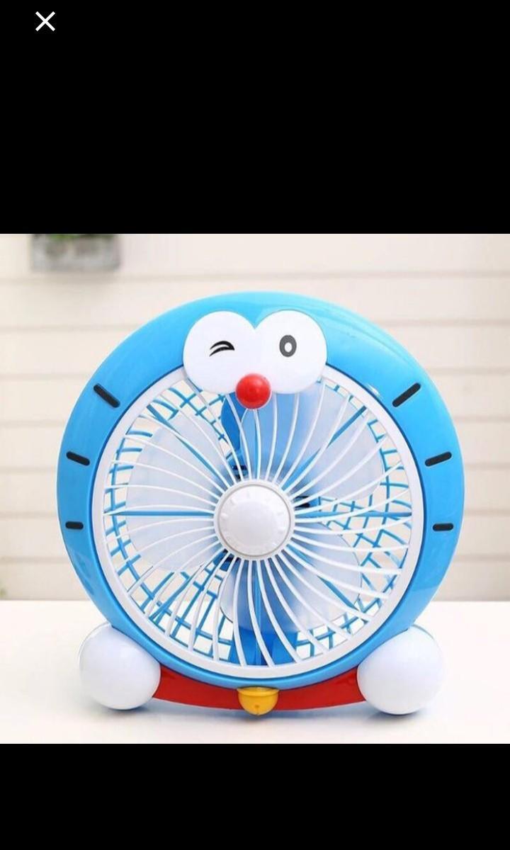 Kipas Angin Doraemon 8' inch