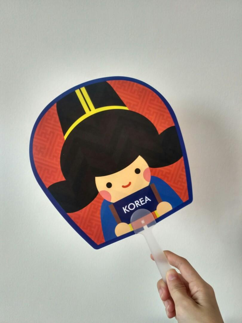 Kipas tangan KOREA