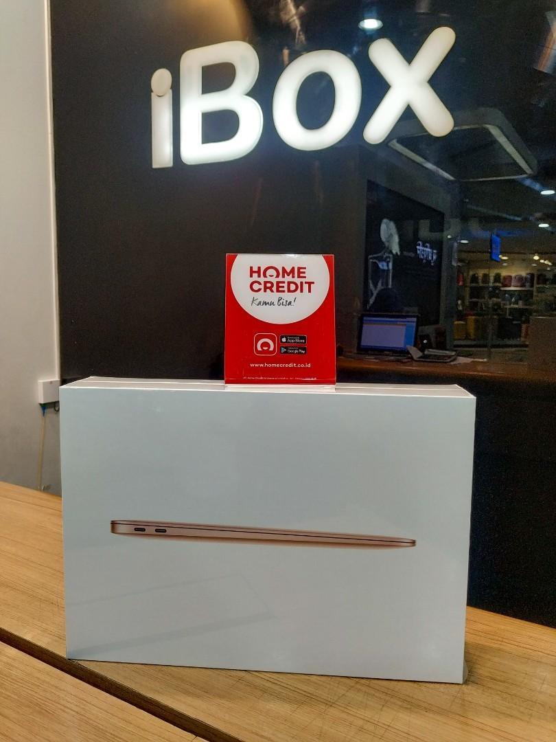Kredit DP 10% MacBook Air 2020 MWTJ2 13/8GB/256GB RESMI free admin 199k
