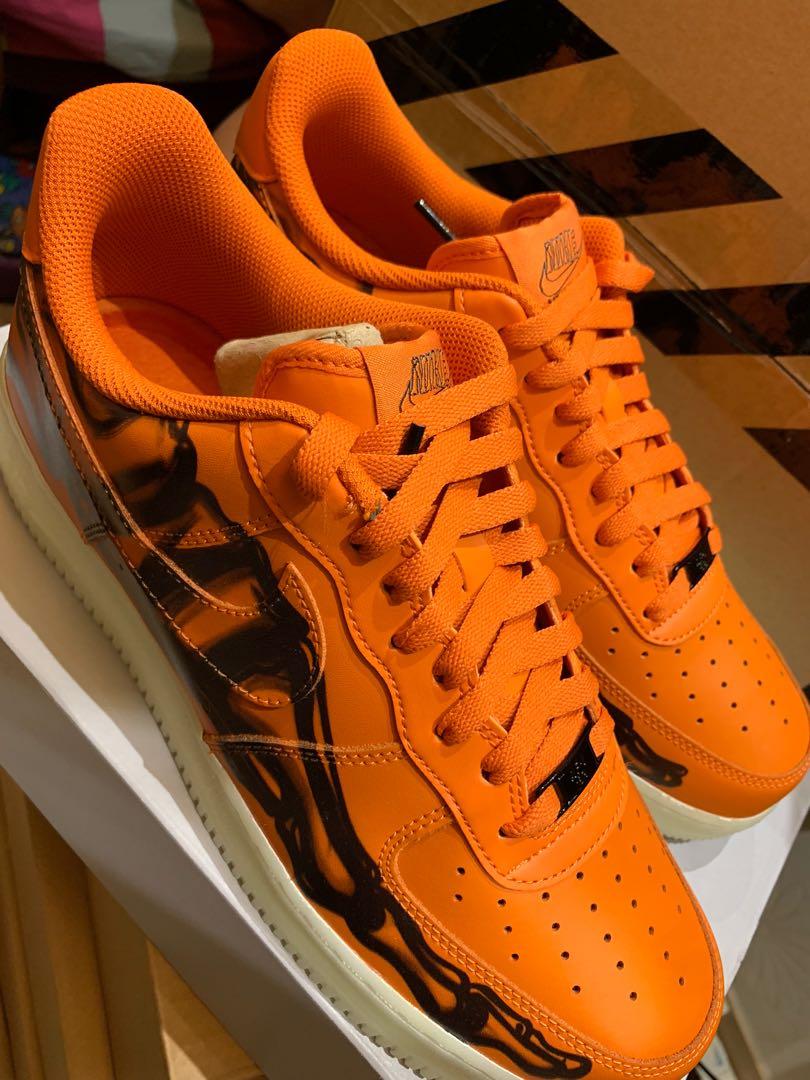 nike air force low orange