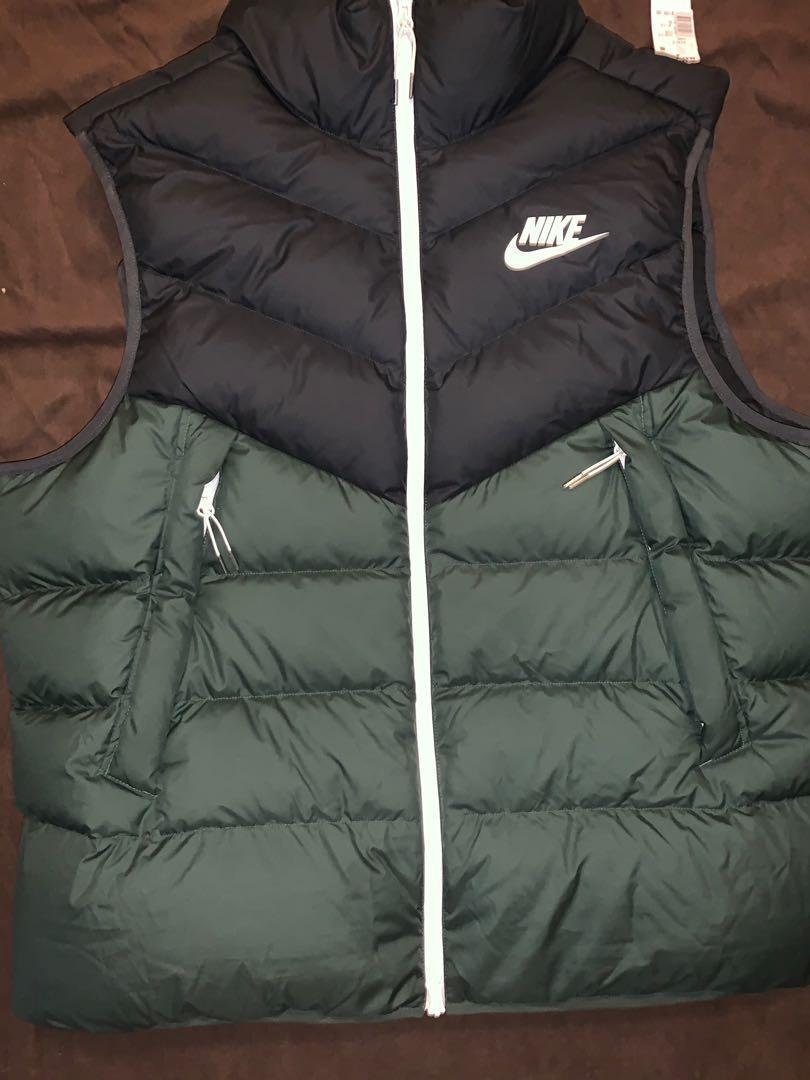 Nike Vest Size XXL (Green/Black)