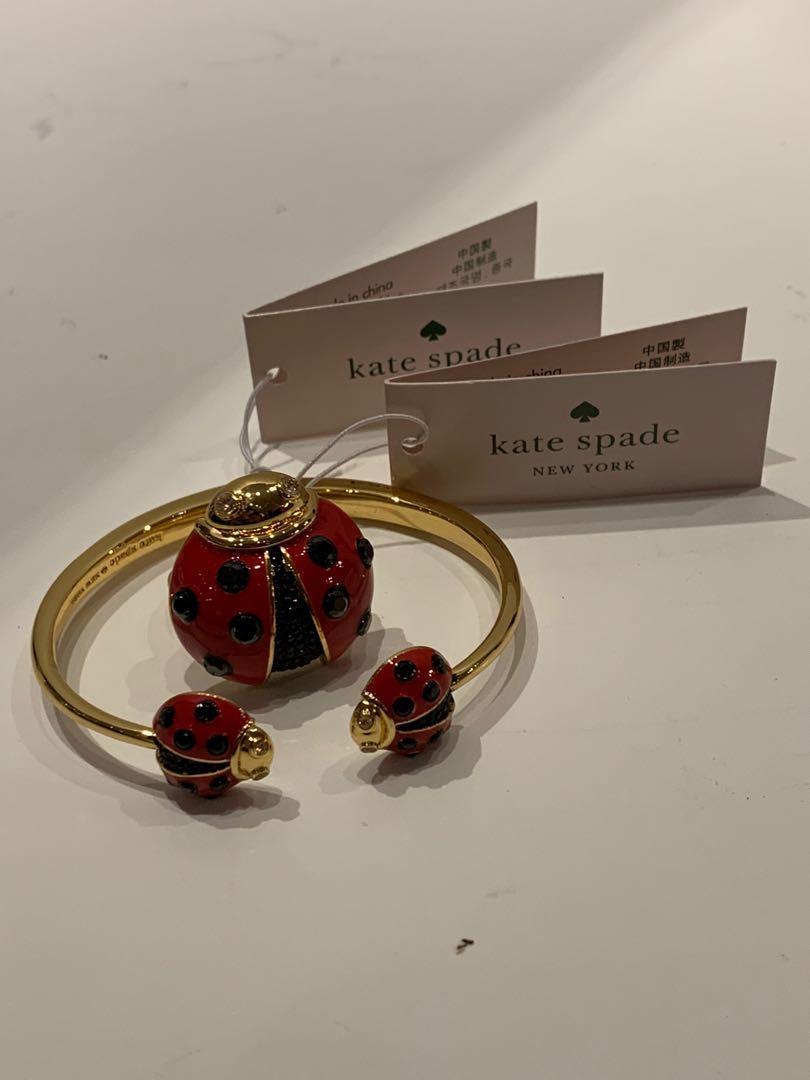 NWT Kate Spade ♠️ Ladybug Bracelet & Ring