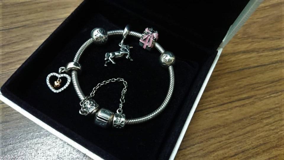 Pandora Charm Bracelet Used Women S Fashion Jewellery On Carousell