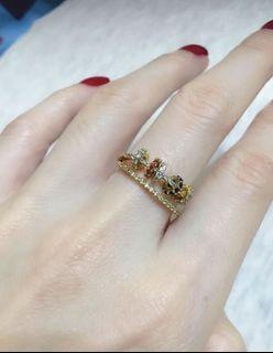 Pandora style 戒指