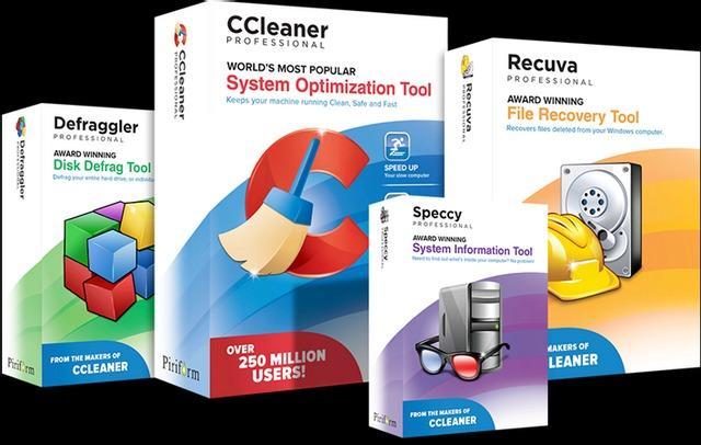 Piriform Bundle AIO 4 In 1 - Paket 4 Aplikasi Pembersih dan Pemelihara System Windows
