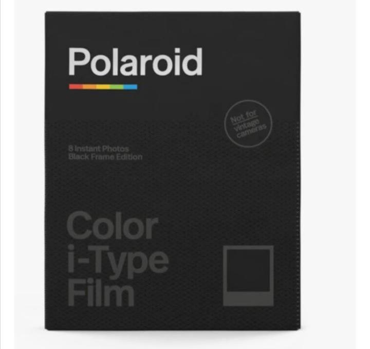Polaroid Color I-Type Film (black)