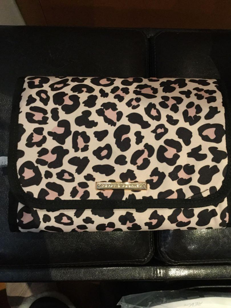 Poppy and Peonies Make up bag