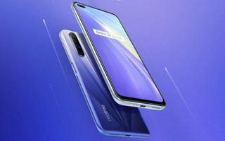 全新Realme X50 5G 8+128G 雙卡雙待 4800萬四鏡頭 極地藍台南可面交