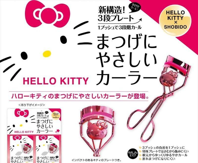 【白芷北歐雜貨🐦】🌻預購🌻SHO-BI HELLO KITTY睫毛夾