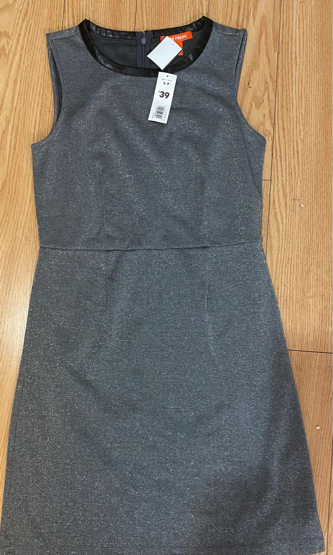 Sliver dress size small