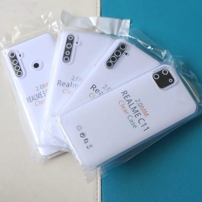 Soft back case jelly bening  2.0 mm tebal Oppo A5 Oppo A92