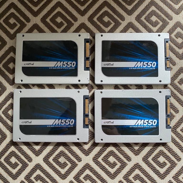 SSD 512 GB Crucial M550, Normal Mantap