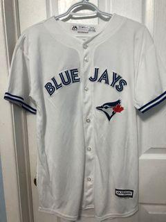 Toronto Blue Jays Cool Base Replica White Jersey - Youth XL - Majestic - Stroman (6)