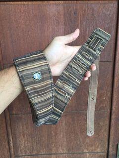 Vorson leather bass n guitar strap