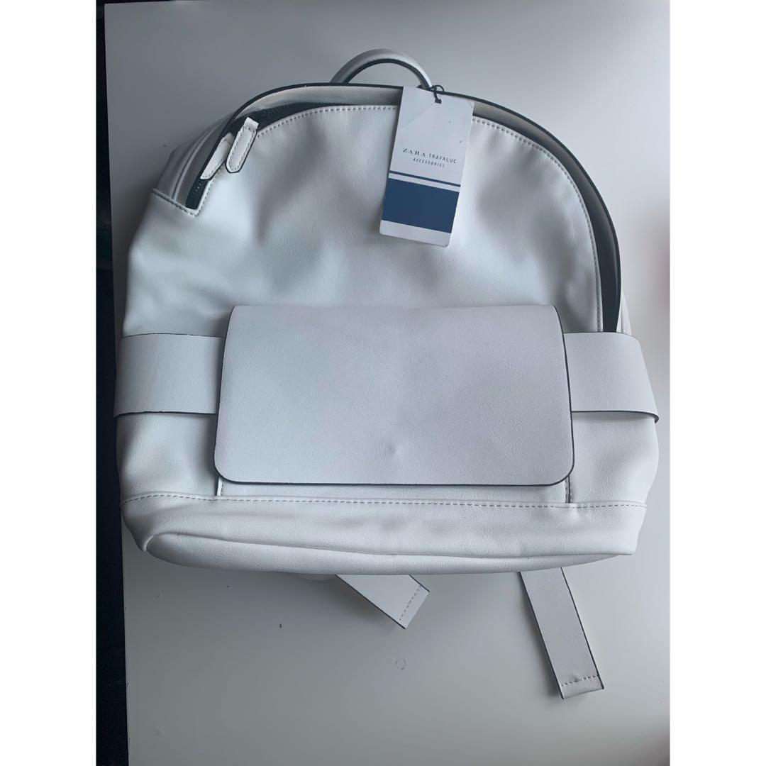White Zara Backpack