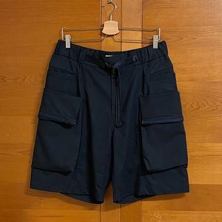 WISDOM Rick 2 Pockets Worker Shorts (L) 海軍藍